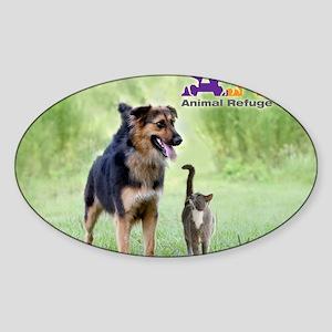 ARC_poster_3200x4000 Sticker (Oval)