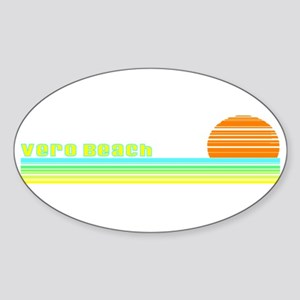 Vero Beach, Florida Oval Sticker