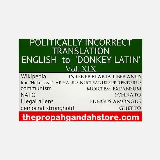 'Donkey Latin' Vol. 19 Magnets