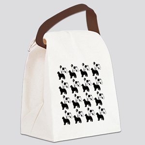 newf_pattern2 Canvas Lunch Bag
