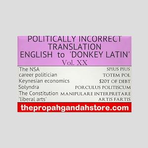 'Donkey Latin' Vol. 20 Magnets