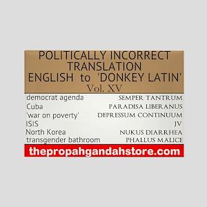 'Donkey Latin' Vol. 15 Magnets