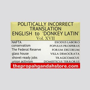 'Donkey Latin' Vol. 17 Magnets