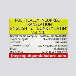 'Donkey Latin' Vol. 13 Magnets