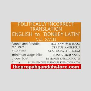 'Donkey Latin' Vol. 18 Magnets