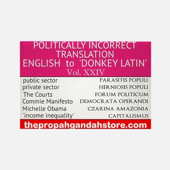 'Donkey Latin' Vol. 24 Magnets