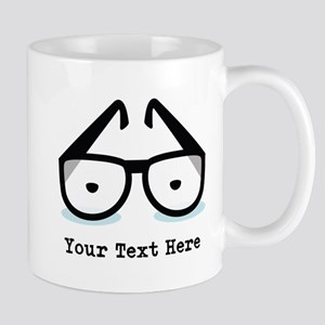 Personalized Geek Glasses Mug