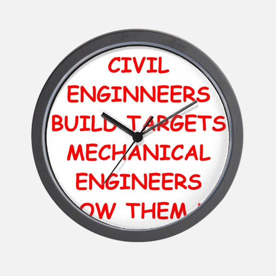CIVIL.png Wall Clock
