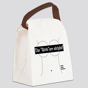 THE GIRLS ARE ALRIGHT Canvas Lunch Bag