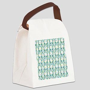 GirraffeFFabDsq Canvas Lunch Bag