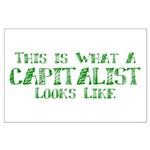Capitalist Large Poster