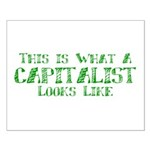 Capitalist Small Poster