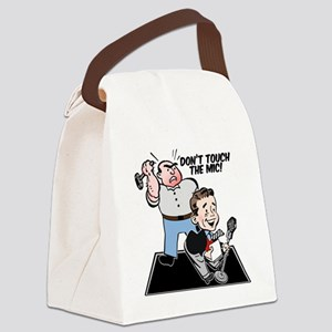 dont-touch Canvas Lunch Bag