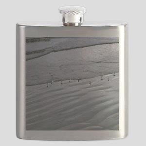 (4) Ocean Lines Flask