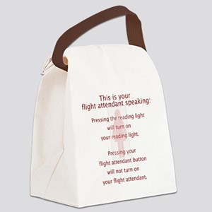 FAbutton Canvas Lunch Bag