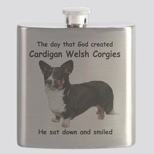 God-Cardigan Dark Shirt Flask
