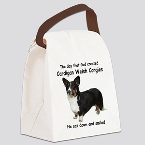 God-Cardigan Dark Shirt Canvas Lunch Bag
