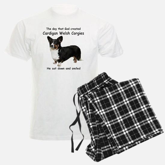 God-Cardigan Dark Shirt Pajamas
