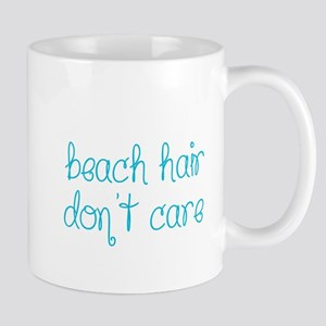 Beach Hair Don't Care Mugs