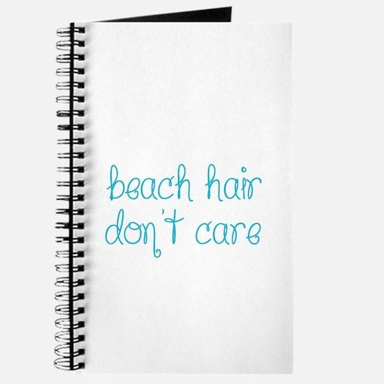 Beach Hair Don't Care Journal