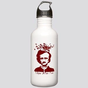 2-edgarallenpoeblk Stainless Water Bottle 1.0L