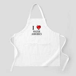 Love Water Aerobics BBQ Apron