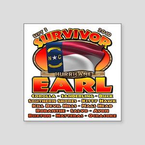 """cp_earl_button Square Sticker 3"""" x 3"""""""