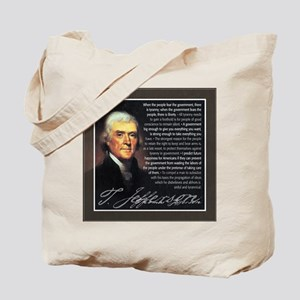 TJ Quotations Tote Bag
