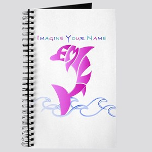 Emily pink dolphin Journal