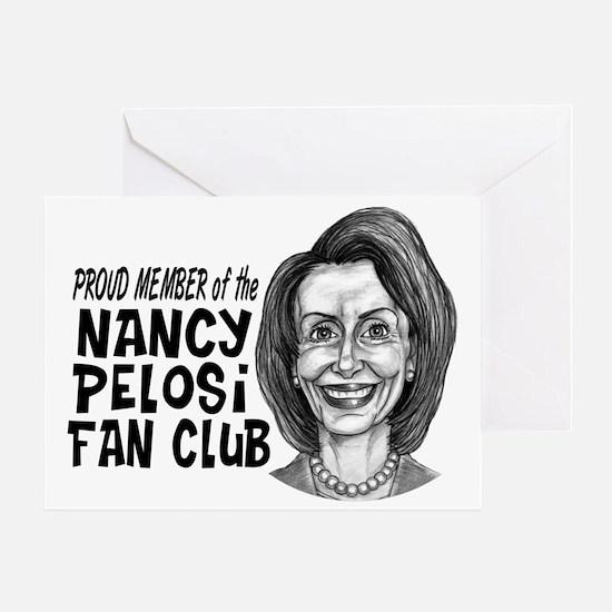 Nancy Fan Club Proud Greeting Card