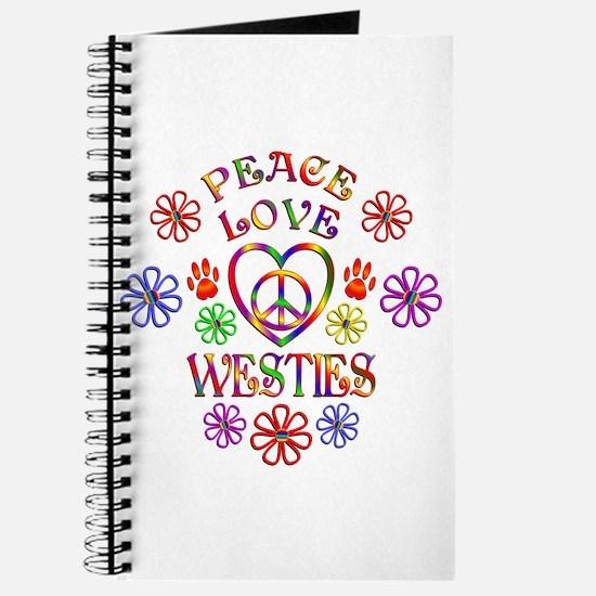 Peace Love Westies Journal