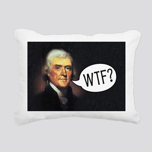 tj-wtf-rect-2 Rectangular Canvas Pillow