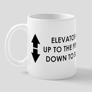 elevator arrows III Mugs