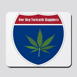 Cannabis Leaf Mousepad