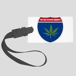 Cannabis Leaf Luggage Tag