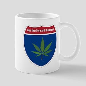Cannabis Leaf Mugs