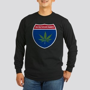 Cannabis Leaf Long Sleeve T-Shirt