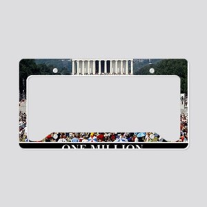 ART one million License Plate Holder