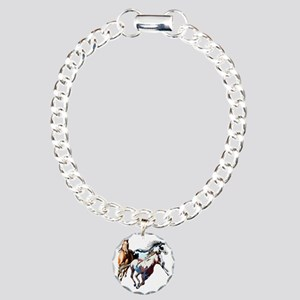 Raceday Charm Bracelet, One Charm