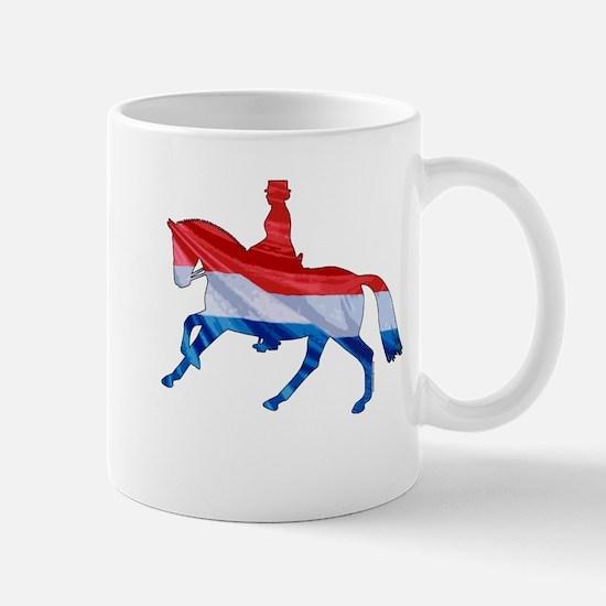 Dressage Horse Netherlands Mug