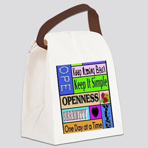 12 step sayings Canvas Lunch Bag