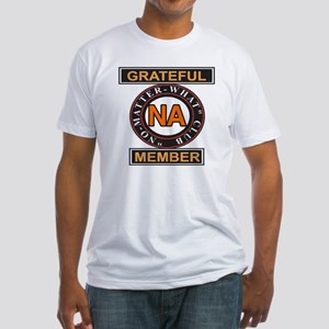 NA GRATEFUL MEMBER Fitted T-Shirt