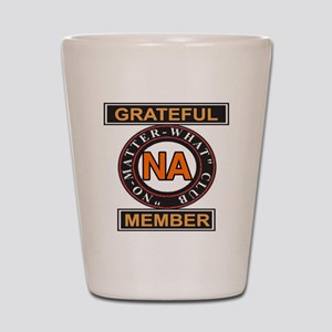 NA GRATEFUL MEMBER Shot Glass