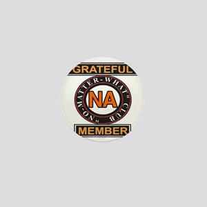 NA GRATEFUL MEMBER Mini Button