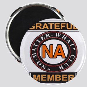 NA GRATEFUL MEMBER Magnet