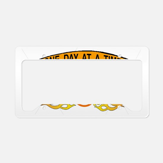 ONE DAY AT A TIME License Plate Holder