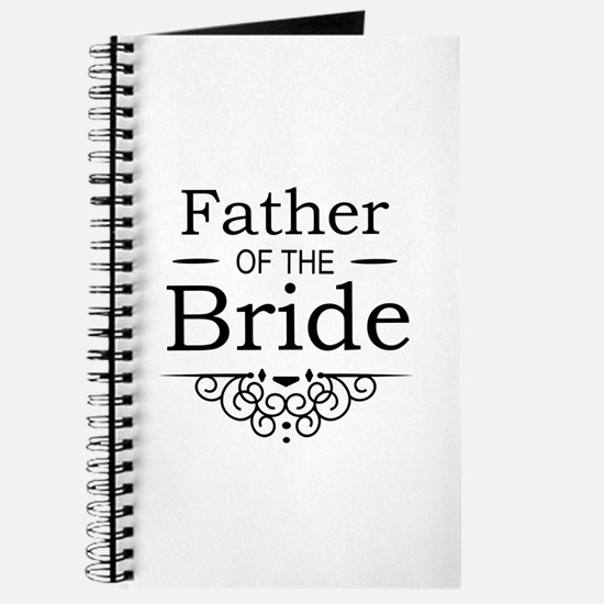 Father of the Bride black Journal
