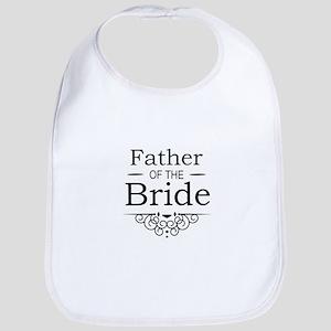Father of the Bride black Bib