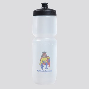 Mom is Awesome! Sports Bottle