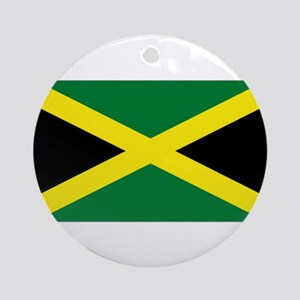 Jamaica National Flag Ornament (Round)